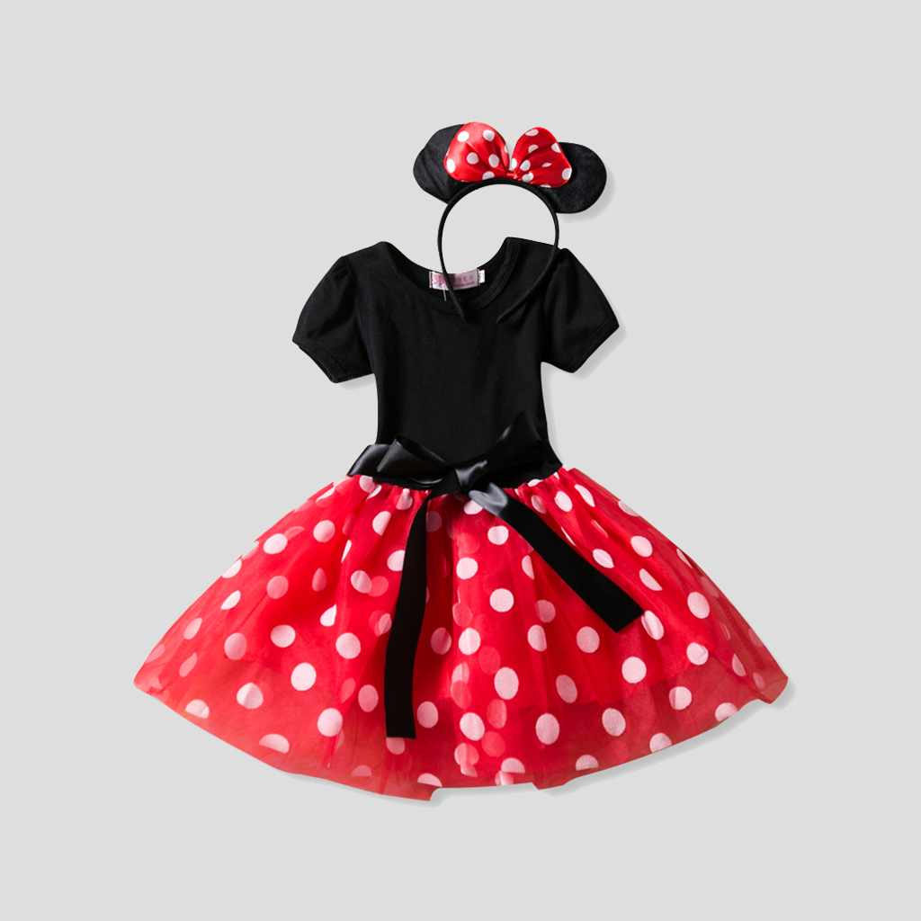 Cosplay Minnie Mouse Dress
