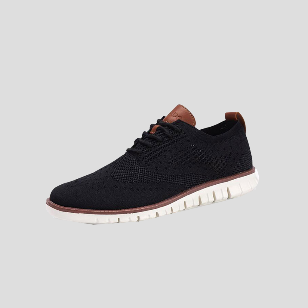 Brock Knitted Mesh Casual Oxford Sneakers